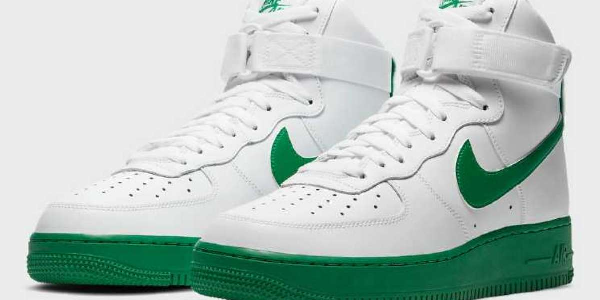 2020 Nike Air Force 1 High White Green Soles Coming Soon