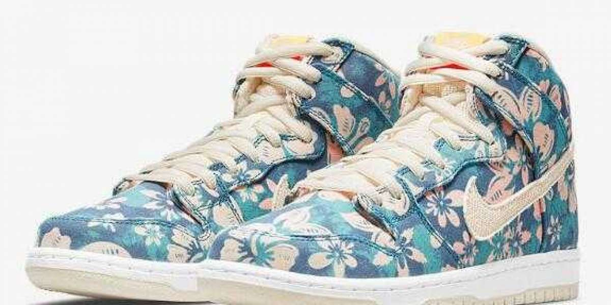 "CZ2232-300 Nike SB Dunk High ""Maui Wowie"" to Drop on April 23, 2021"