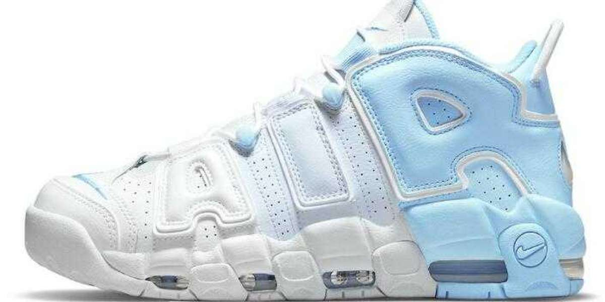 Nike's Air More Uptempo Delivery the Sky Blue Colorway