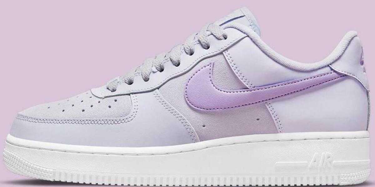 New Air Force 1 Low Covered With A Full Purple Suit